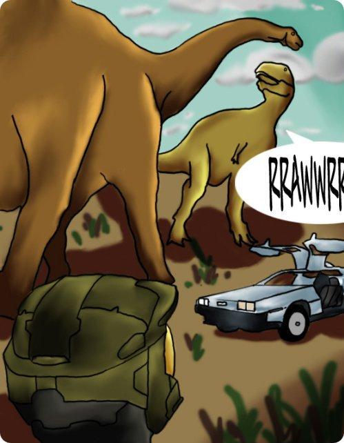 MC Goes Cretaceous