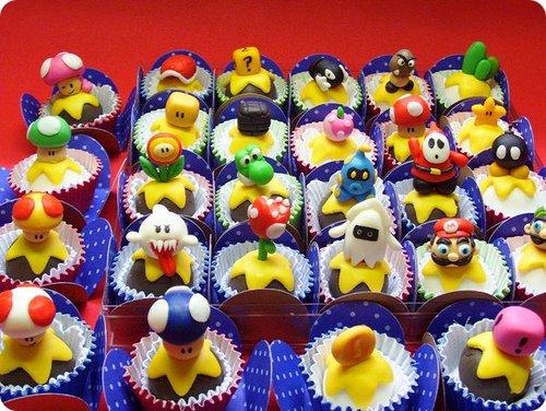 Mario-Themed Truffles