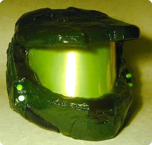 Paper-Mâché Master Chief Helmet