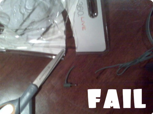 Opening Headset Fail