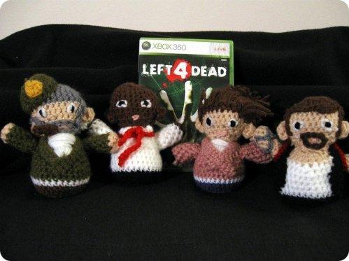 Left 4 Dead Dolls