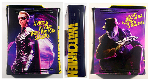 Watchmen Ozzy Rorschack Limited Edition Console