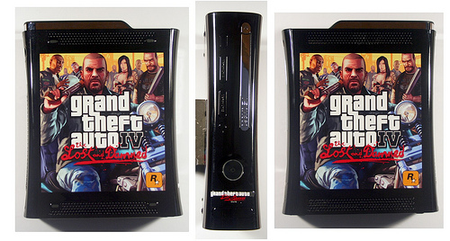 GTA IV Lost and Damned Limited Edition Console