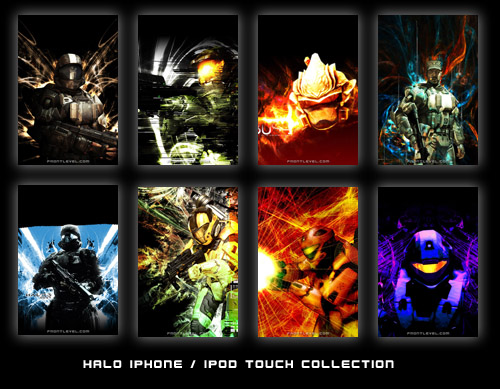 Halo-Themed iPhone/iPod Touch Wallpaper Collection</p></blockquote> <p>
