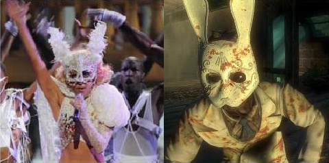 Lady Gaga totally looks like a Splicer from BioShock