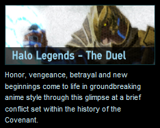 The Duel Halo Legends