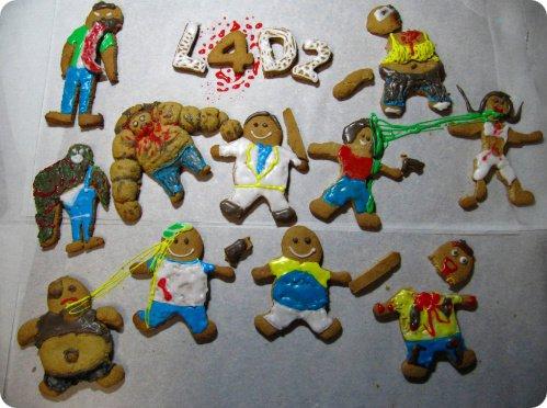 Left 4 Dead 2 Gingerbread Cookies