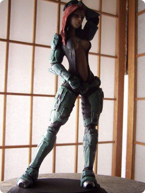 Female Spartan Action Figure