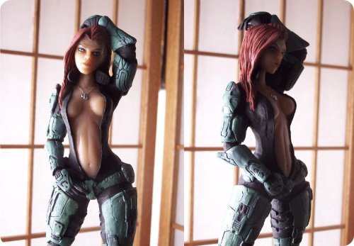 Female Spartan Action FigureFemale Spartan Action Figure