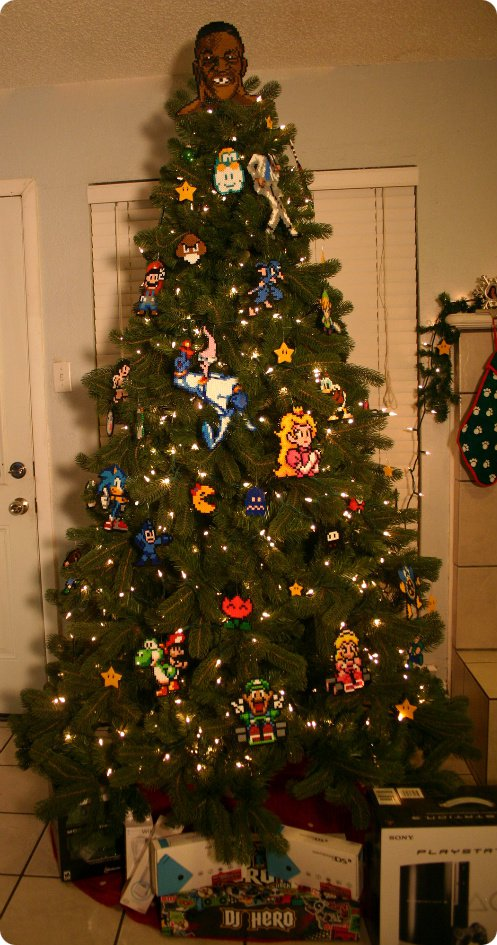 Gamer Christmas Tree