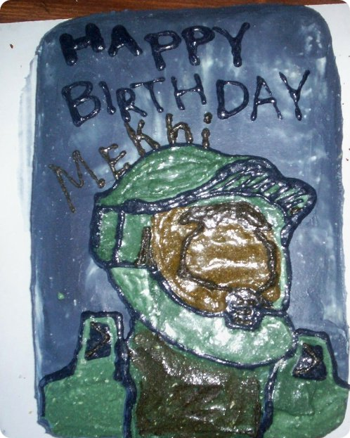 Master Chief Cake