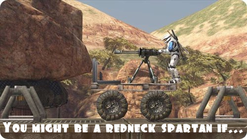 You might be a redneck Spartan if ...
