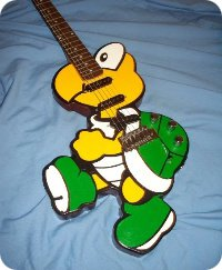 Koopa Troopa Guitar