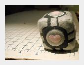 Companion Cube Plush