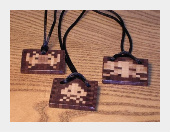 Space Invaders Necklaces