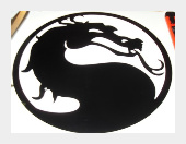 Mortal Kombat Vinyl Decal
