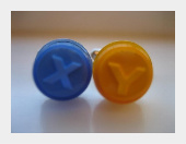 Xbox Button Cufflinks