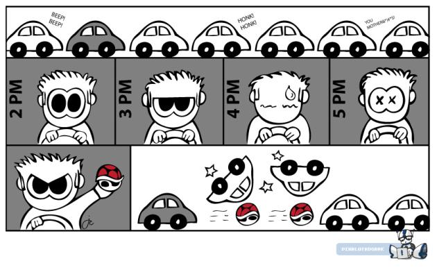 Turtle Shell Traffic