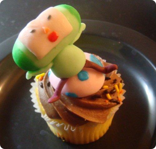 Katamari Cupcake