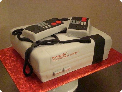 Family Computer (NES) Cake