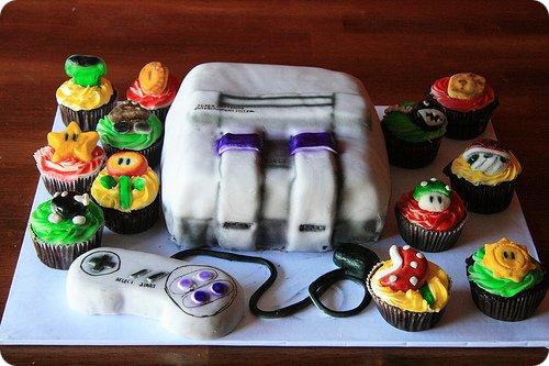 Super Famicom (SNES) Cake