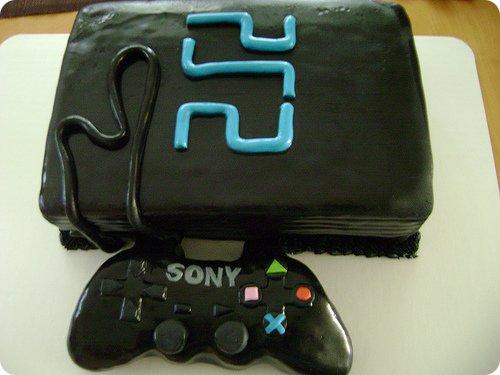 PlayStation 2 Cake