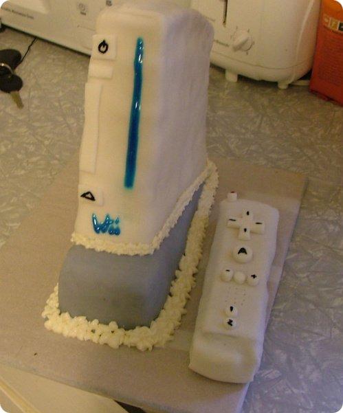 Nintendo Wii Cake