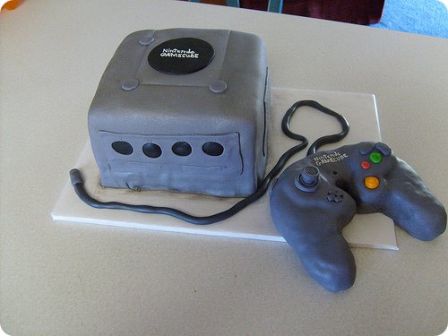 Nintendo GameCube Cake