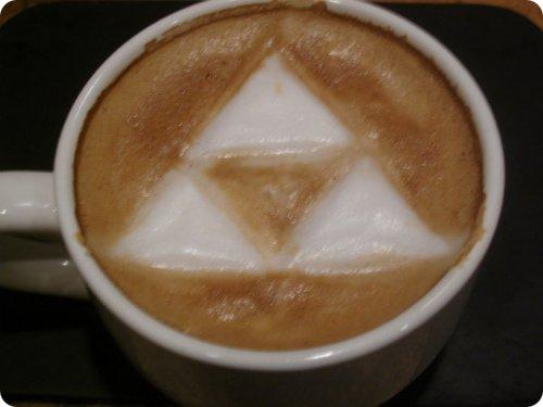 Triforce Latte