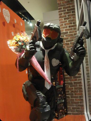 Romantic Valentine's Day Master Chief