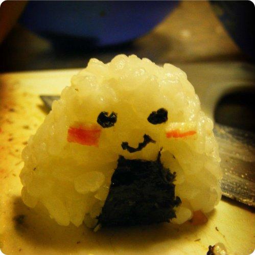 Happy Pikachu Onigiri