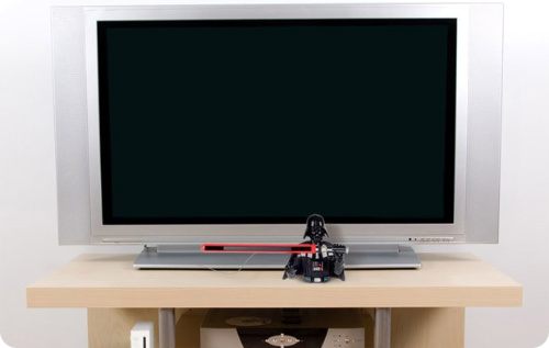 Darth Vader Wii Sensor