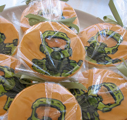 Master Chief Halo Cookies