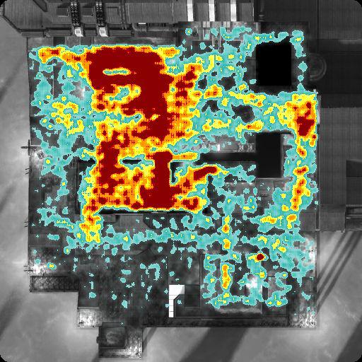 Longshore Halo Heatmap