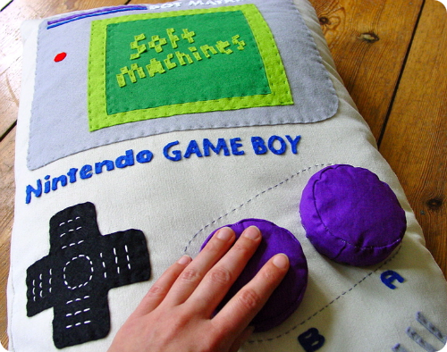 Game Boy Pillow