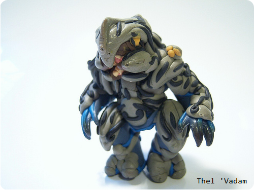 Clay Arbiter Halo Figure