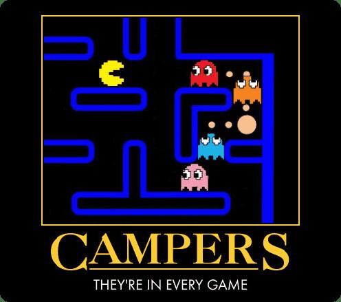 Campers Motivational Poster