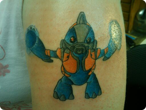 Halo Grunt Tattoo