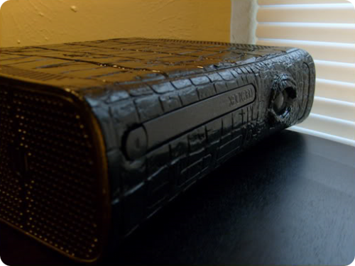 alligator-themed xbox 360 mod