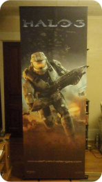 Autographed Halo Poster
