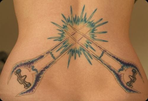Halo Sword Tattoo