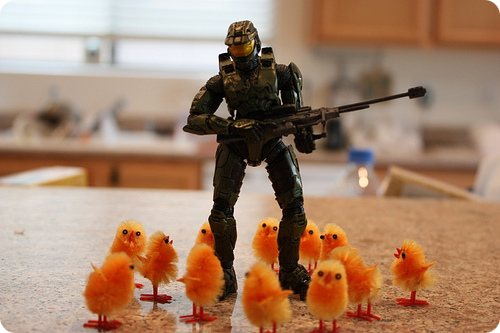 Master Chief Easter