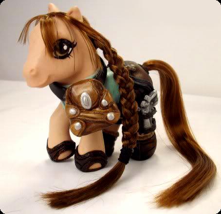 Lara Croft My Little Pony