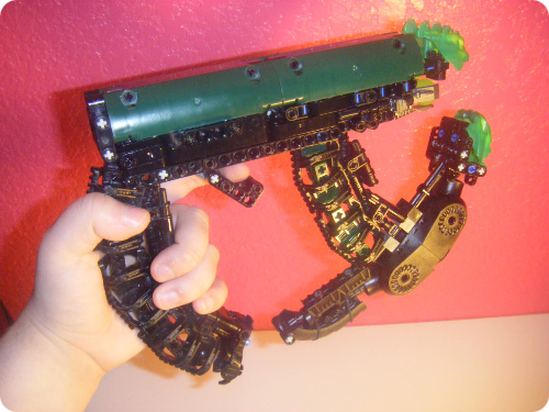 Halo Bionicle Plasma Pistol