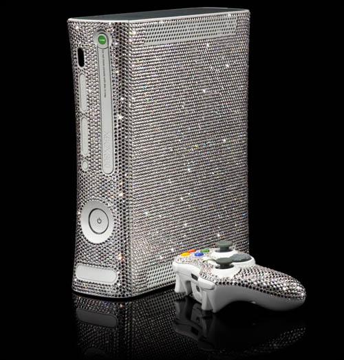 Blinged Xbox 360