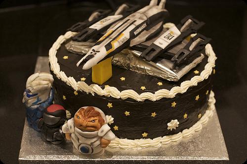 Mass Effect 2 Cake