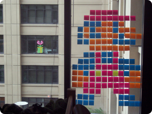 Post-it Note Mario