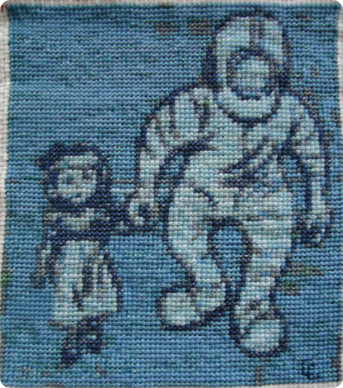 BioShock Cross Stitch