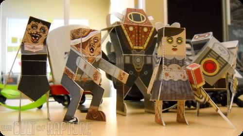 BioShock Papercraft
