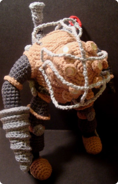 BioShock Knit Doll
